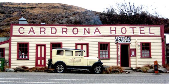 Cardrona Hotel Wanaka Nouvelle Zélande