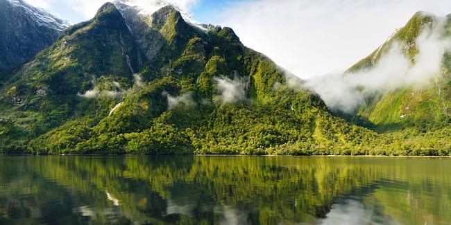 Le Doudfull Sound - Les fjord de la Nouvelle Zélande