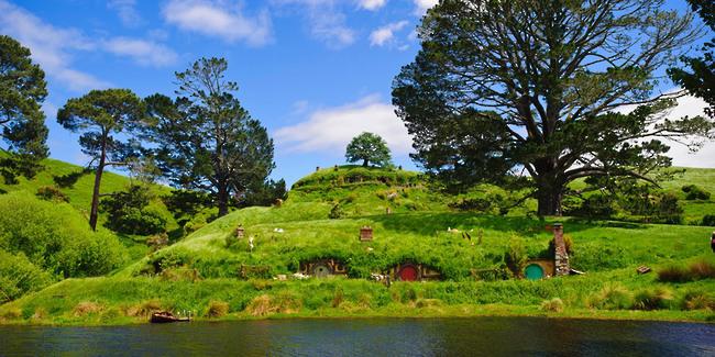 Matamata La terre du milieu Nouvelle Zélande