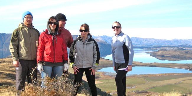 Randonnée Wanaka Nouvelle Zélande