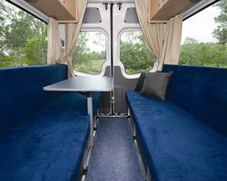 Interieur camping-car