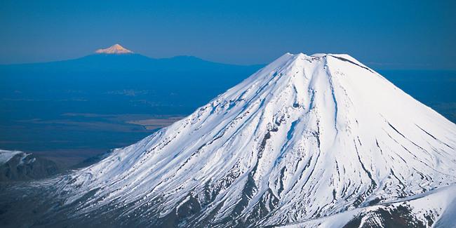 Mont Ruapehu Nouvelle Zélande