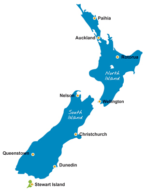 Where Is Rotorua On The New Zealand Map.Tourism In New Zealand