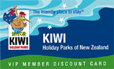 kiwi holiday parks card