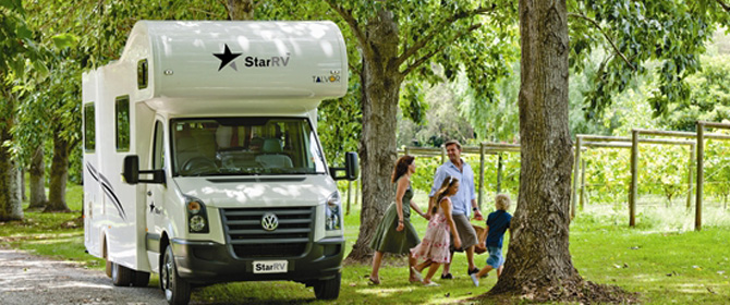 Motorhomes and Campervan hire New Zealand : 5 - 6 people